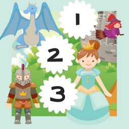 123 Count-ing & Learn-ing Number-s: Fairy-Tale & Prince-ss My Kid-s & Baby First Free Education-al Game-s
