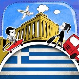 Greek Phrasi - Free Offline Phrasebook with Flashcards, Street Art and Voice of Native Speaker