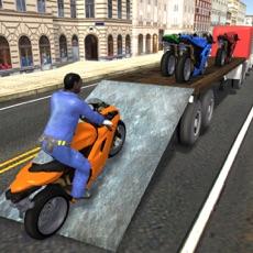 Activities of Heavy Bike Cargo Truck – Ultimate Transporter Trailer