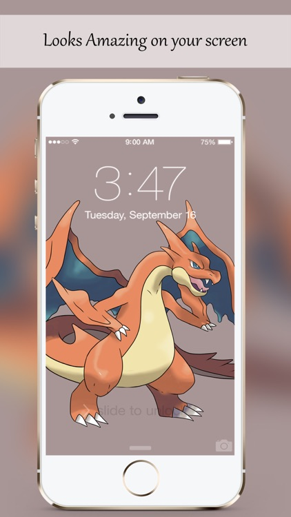 Awesome Cool Lock Screen Wallpapers for  Pokemon screenshot-3