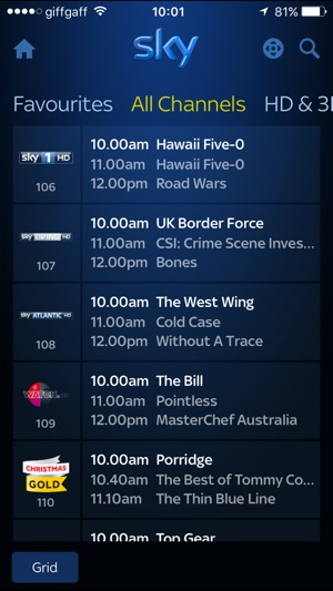 Sky+ on the App Store
