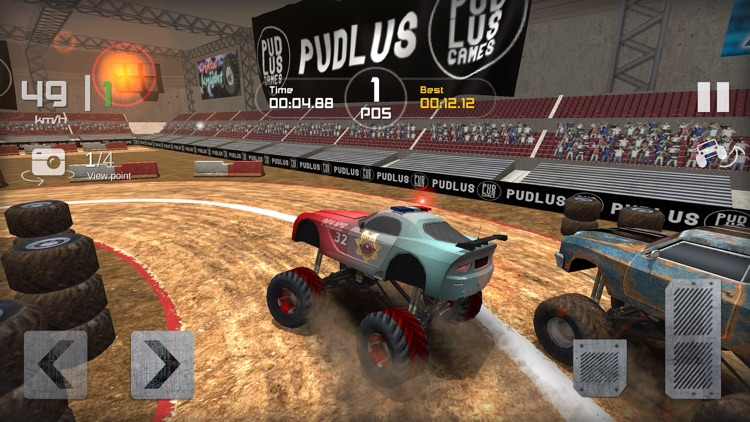 Monster Truck Drag Race
