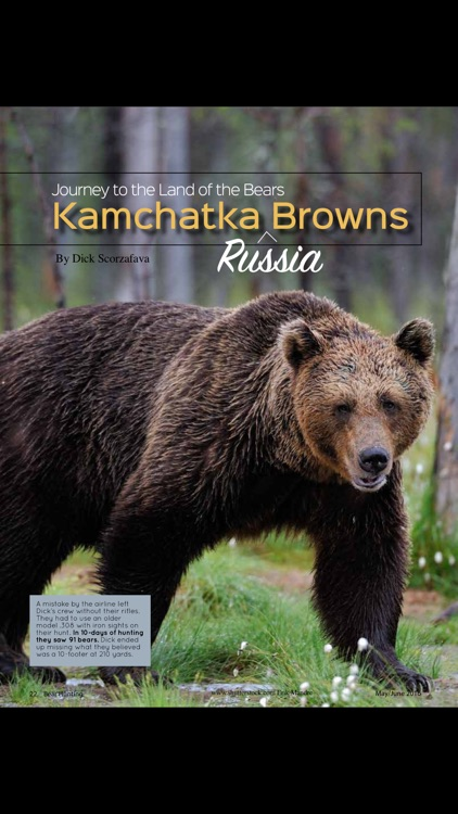 Bear Hunting Magazine screenshot-3