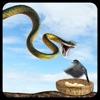 Ataque de serpiente real de vuelo Simulador: Wild Hunt-Vida Los animales en el bosque