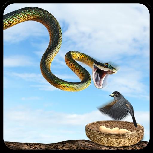 Реальные Летающие змеи атаки Simulator: Охота Wild-Life: Животные в лесу