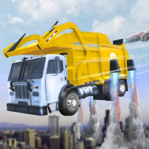 camión de la basura real de vuelo simulador 3D - La conducción de camiones de basura en la
