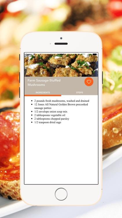 Appetizers Easy Recipes screenshot-3