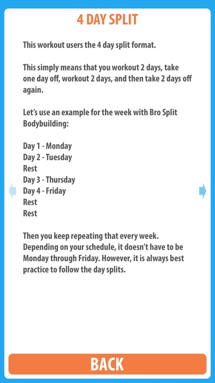 Bro Split Bodybuilding - Use this classic bro split routine to make the muscle gains that you have been looking for screenshot-3