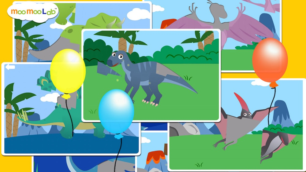 Dinosaur Sounds, Puzzles and Activities for Toddler and Preschool Kids by Moo Moo Lab hack tool