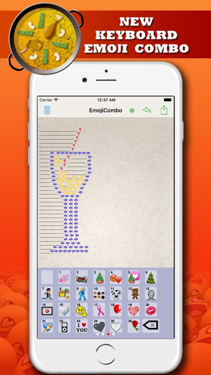 Emoji Extra Plus Free - new Emoji keyboard combined and emoticons