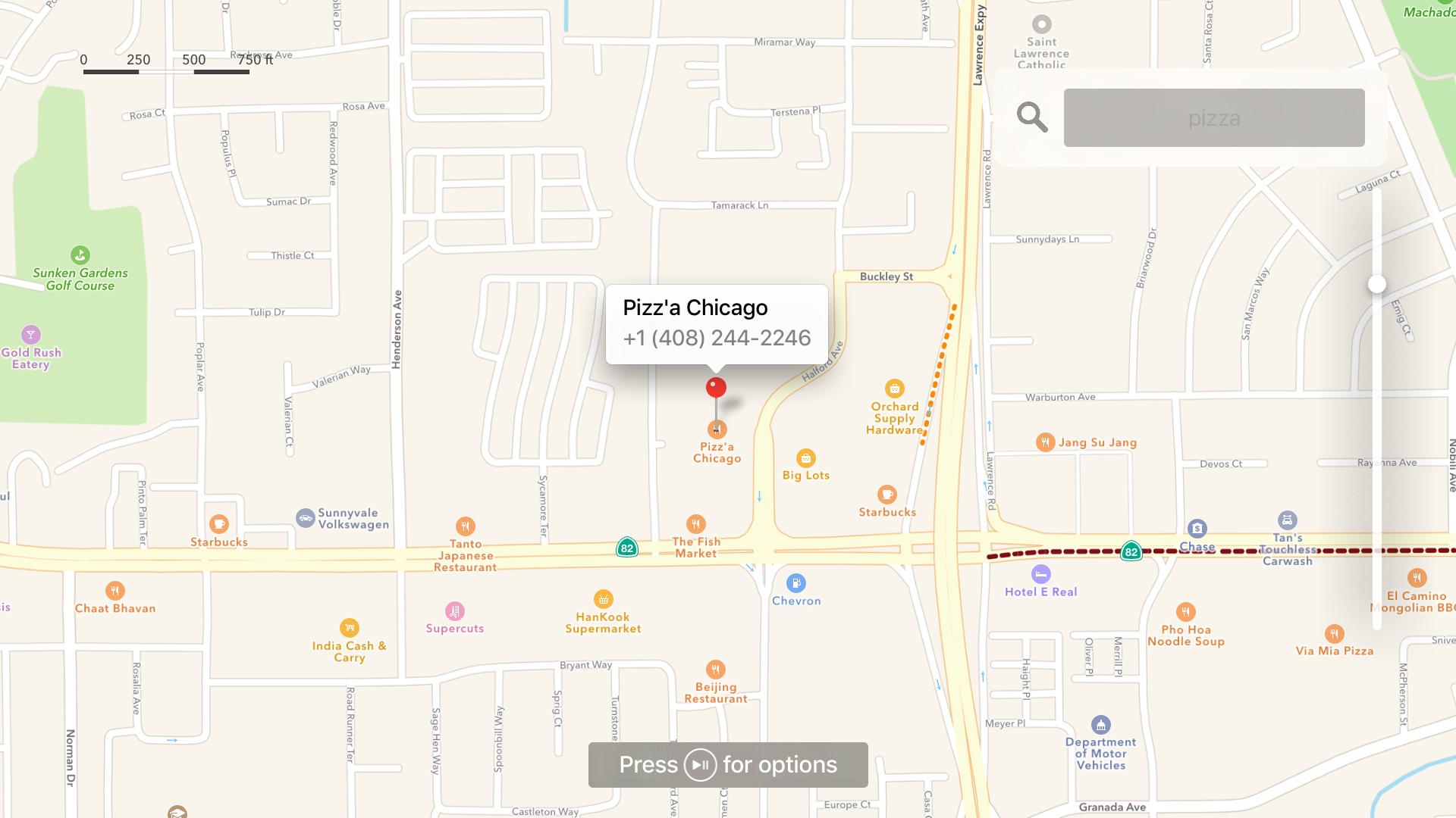 Maps for TV screenshot 5