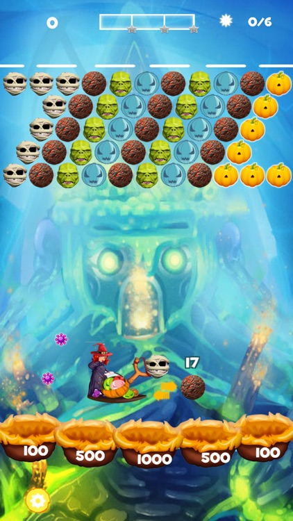 Monster Bubble Shooter 2016 screenshot-4