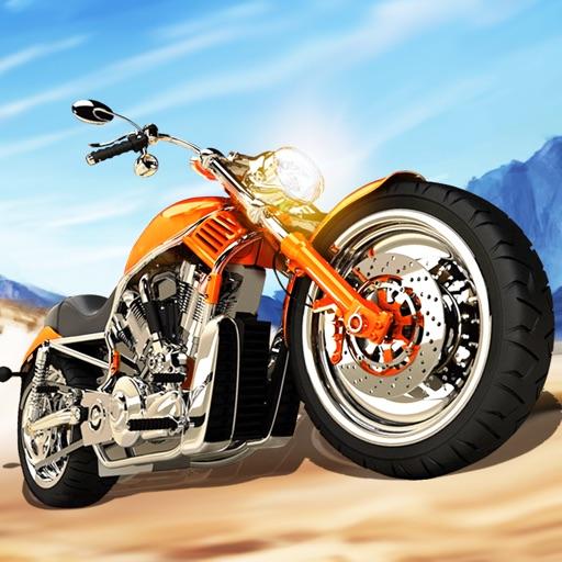 Race Moto in Traffic