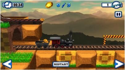 Tren entrega Simulator - free tren juegos, diversion juegos de fisicaCaptura de pantalla de1