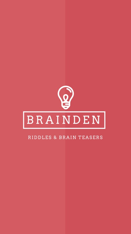 BrainDen - Riddles & Brain Teasers screenshot-0