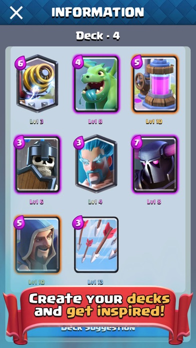 Best Guide for Clash Royale - Deck Builder & Tipsのおすすめ画像4