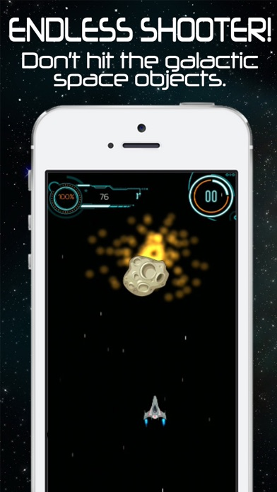 Impossible Space Shooter - Endless Galaxy Game Arcade screenshot two