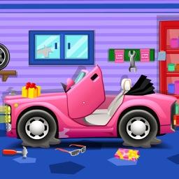 小丸子托马斯洗车-跑跑卡丁车爆裂飞车 樱桃赛车总动员游戏