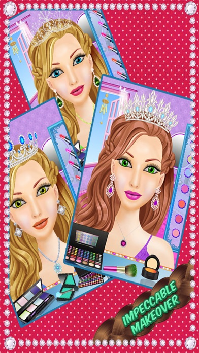 School Girls Hair Style - magic face makeover, changer  & hair style booth screenshot three