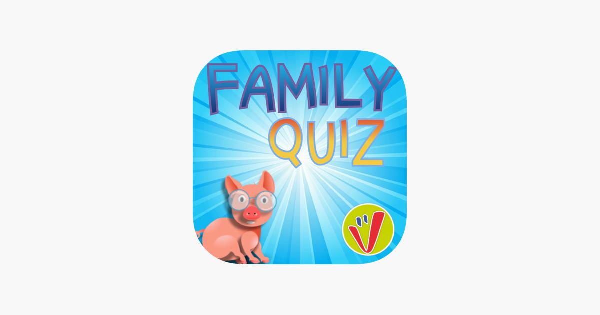 family quiz un jeu questionnaire amusant pour les enfants et les adultes dans l app store. Black Bedroom Furniture Sets. Home Design Ideas