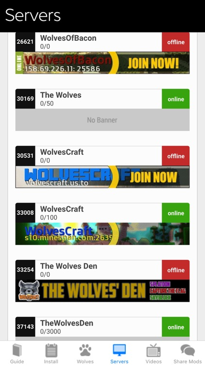 Wolves Mod for Minecraft PC: MCPedia Pocket Gamer Community Ad-Free screenshot-3