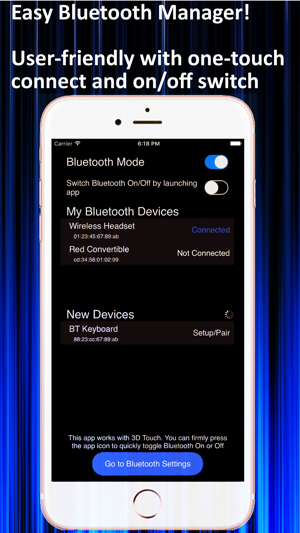 Bluetooth Switch - Easy On/Off Switch and Manager