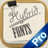Hybrid Fonts Pro - ⒻⓊⓃ Looking Text Fonts for Any Social Apps - The Coolest Message Wrapper