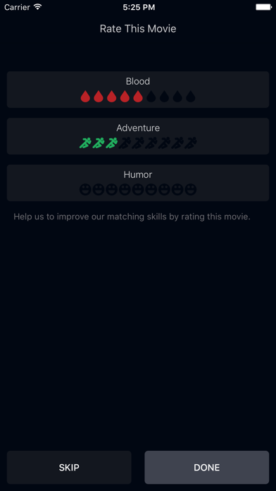 Moodie - Pick Criteria & Amounts, Get Movie Recommendations-3