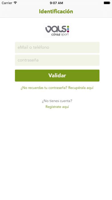 Valssport ConsulCaptura de pantalla de1