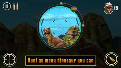 Dinosaur hunting 2016 pro : Free Jurassic Shooting game screenshot four