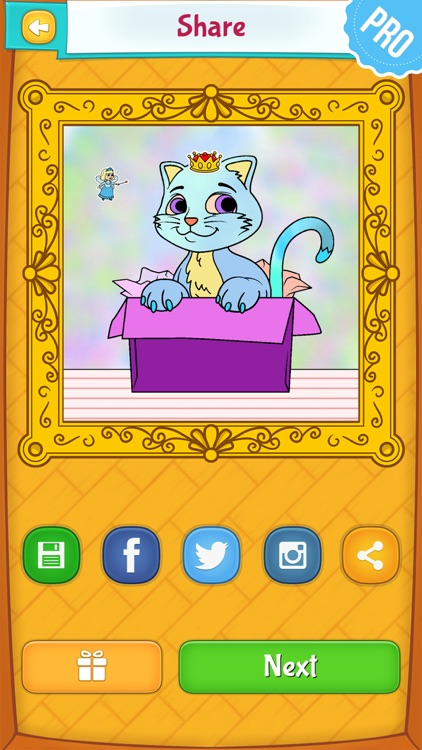 Cat Coloring Pages Pro screenshot-3