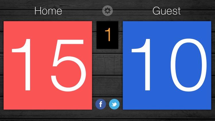 Scoreboard - Free Score Keeping on the Go