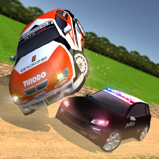 Extreme Off-Road Police Car Driver 3D Simulator - Drive in Cops Vehicle iOS App