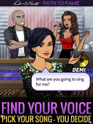 Игра Demi Lovato: Path to Fame