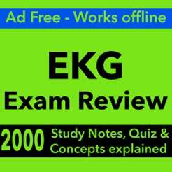 ‎EKG Exam Review : 2000 Terms & Quizzes