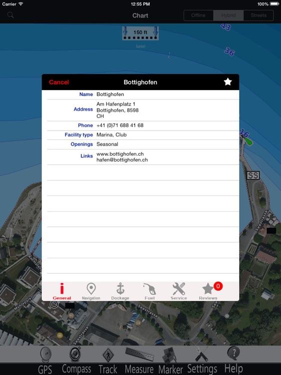 Bavaria Lakes GPS Charts Pro screenshot-3