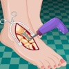 足球明星脚部手术:水疗美甲沙龙