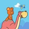 小熊快跑:恐龙世界 - 儿童游戏免费6岁 幼儿游戏