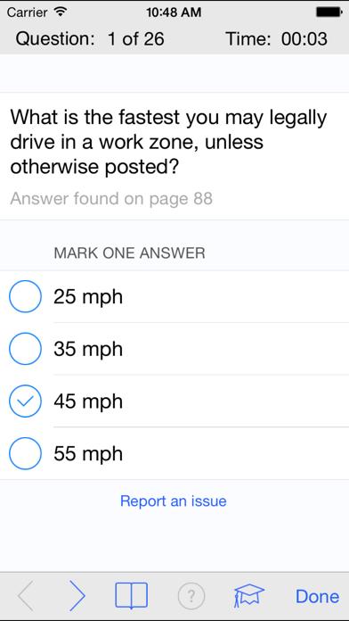 Michigan DMV Test Prep screenshot three