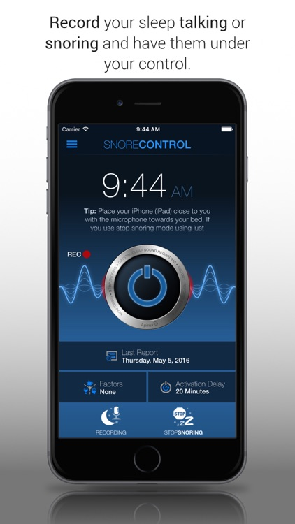 Snore Control Free