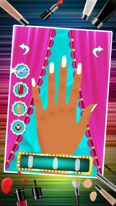 Nail Art Makeover Salon – Little Princess Nail Manicure Dressup Games for Girls screenshot four