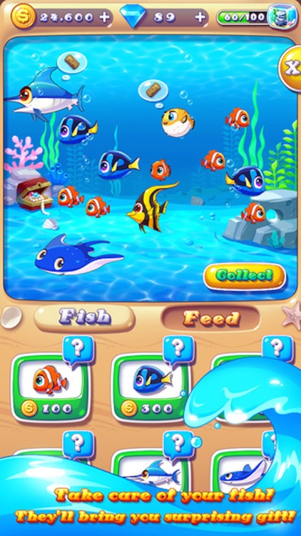 Ocean Joy - 3 match Mermaid splash puzzle game screenshot-3