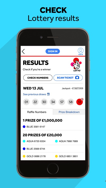 The National Lottery: Official App screenshot-3