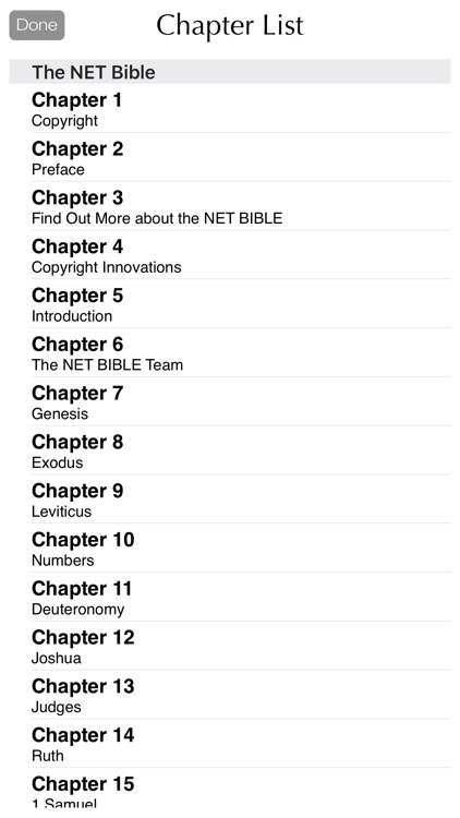 NET Bible - The New English Translation screenshot-3