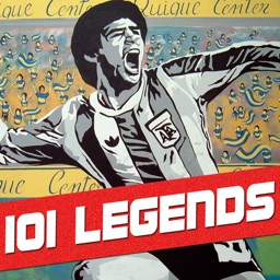 101 Football Legends - Guess the footballer quiz