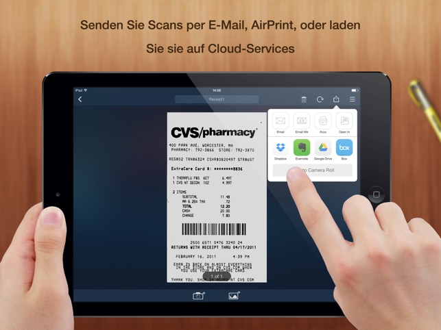 Tiny Scanner+ - PDF scanner to scan document, receipt & fax Screenshot