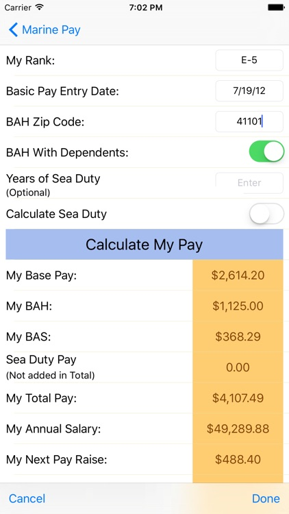 Marine Pay screenshot-3