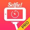 自撮りカメラ 無料 PRO - 写真 編集 加工 かめら 棒アプリ セルフタイマー撮影