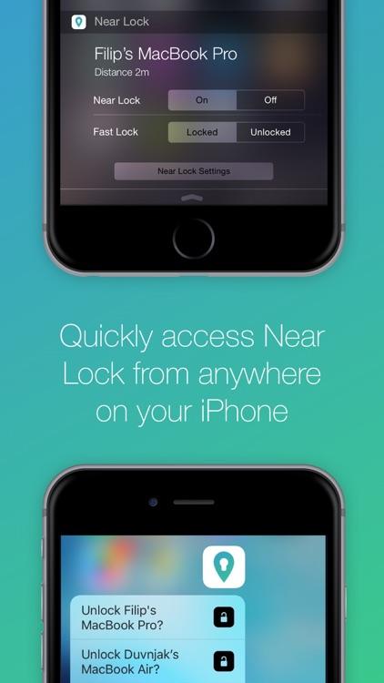 Near Lock - Lock & Unlock your Mac automatically screenshot-3