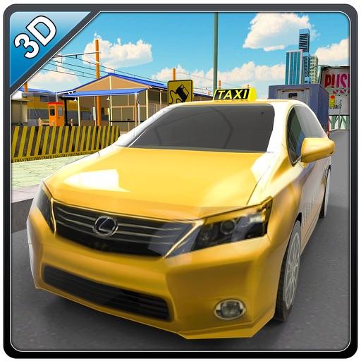 Водитель такси симулятор - желтый вождения такси и парковка игра моделирования